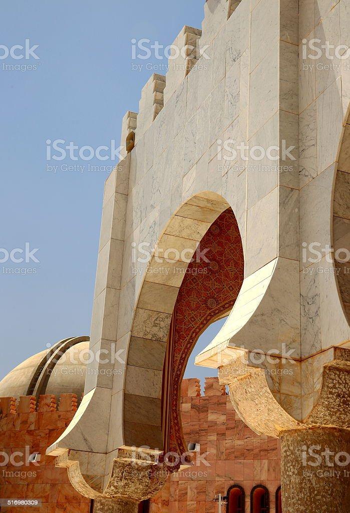 Touba mosque-Senegal-Africa stock photo