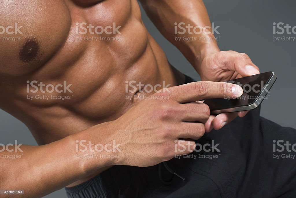 Touch me royalty-free stock photo