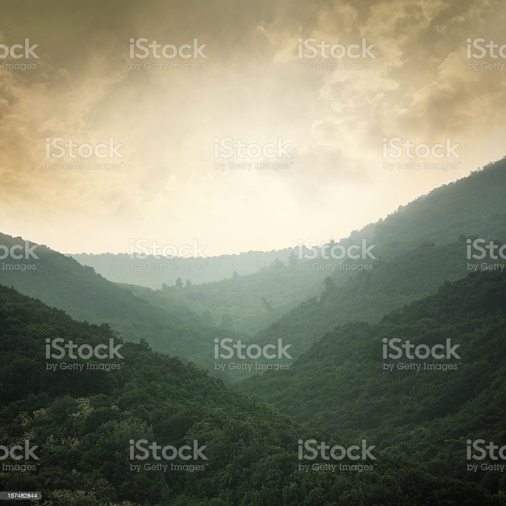 Touch of the infinity royalty-free stock photo