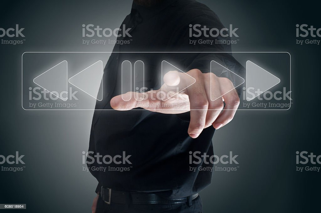 PLAY / Touch screen concept (Click for more) - foto de stock