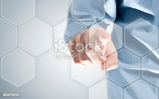 istock Touch screen honeycomb (Click for more) 464619250