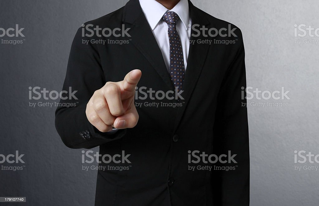 touch screen interface royalty-free stock photo