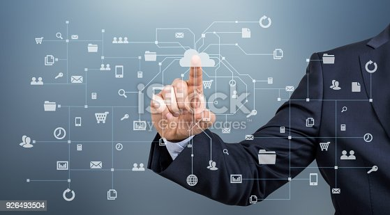 istock Touch Screen Network 926493504