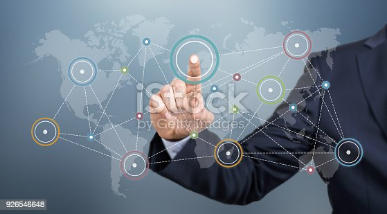 498272366istockphoto Touch Screen Network 926546648