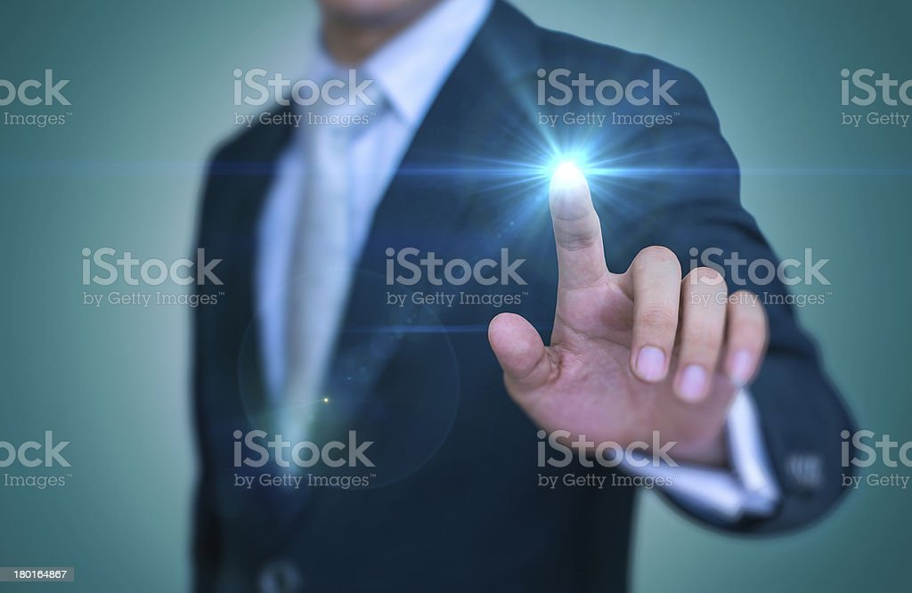 Touch Screen stock photo