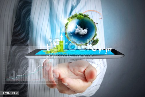 istock touch screen ,touch- tablet in hands 179431937