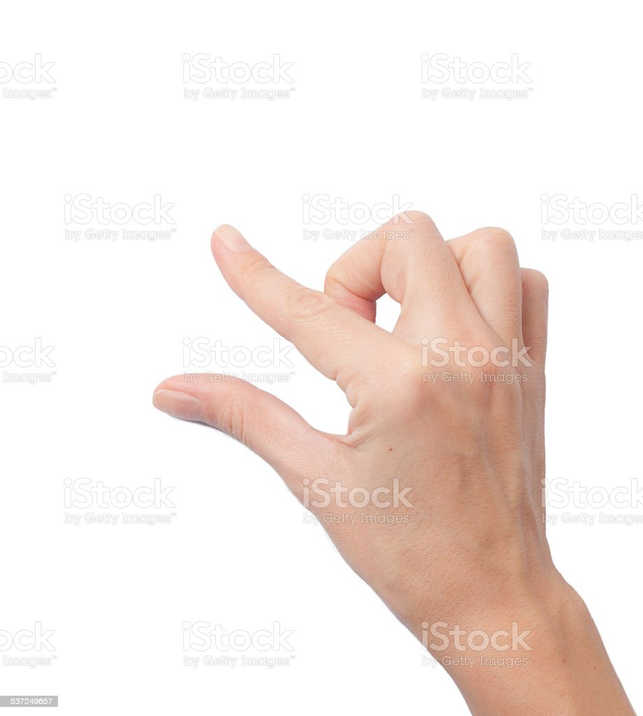 touch screen zoom gesture stock photo