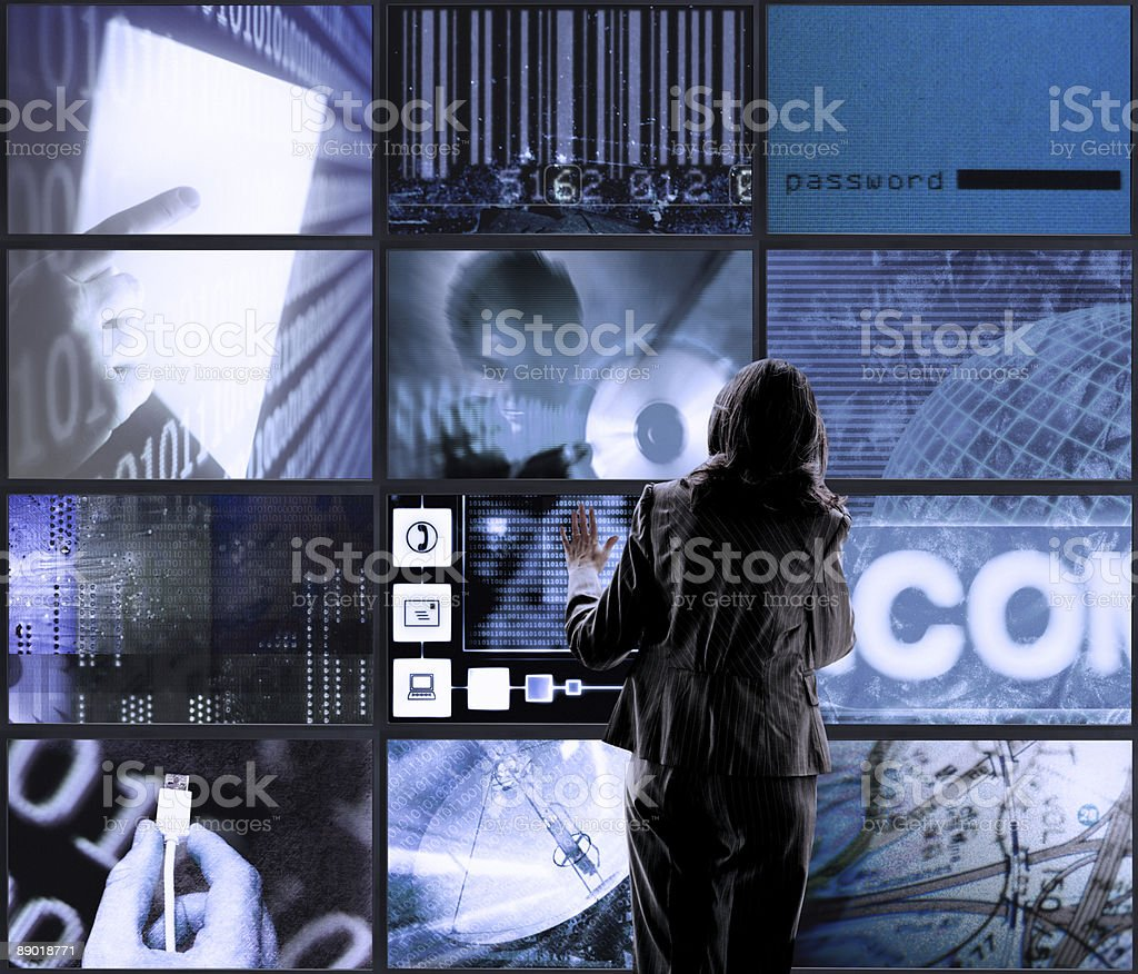 Touch Screens royalty-free stock photo