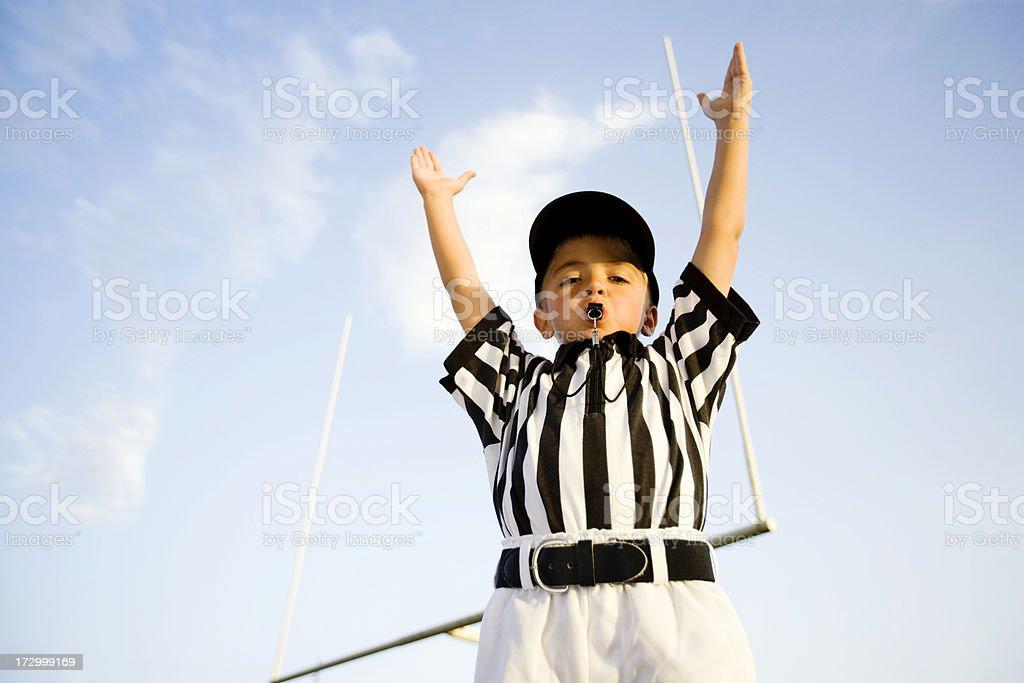 Touchdown! stock photo