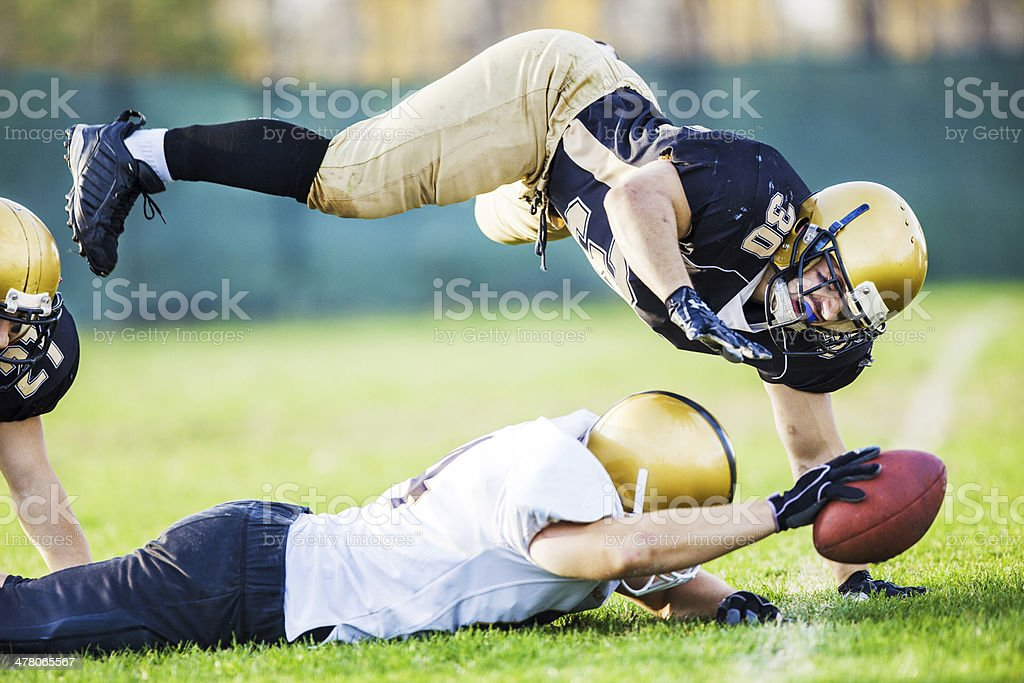 Touchdown. stock photo