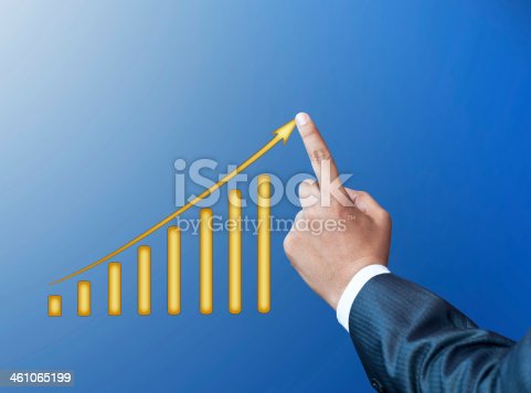 904389218istockphoto Touching Business Graph 461065199