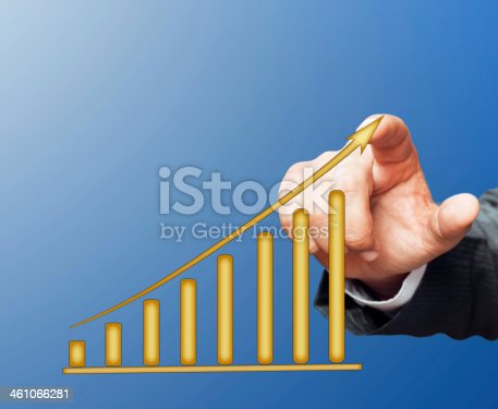 904389218istockphoto Touching Business Graph 461066281