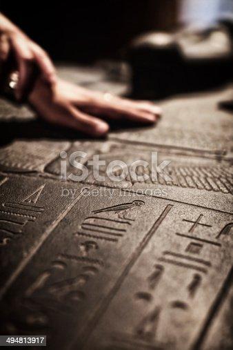istock Touching Egyptian Pharaoh Sarcophagus 494813917