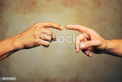 974882202 istock photo Touching 484076628