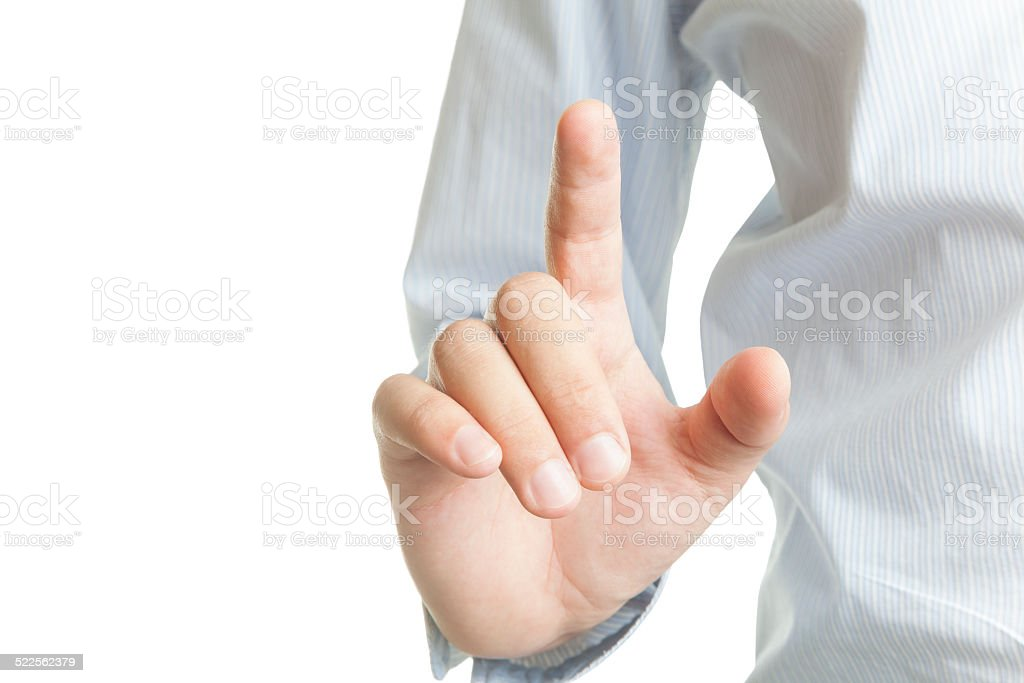 Touching (Click for more) stock photo