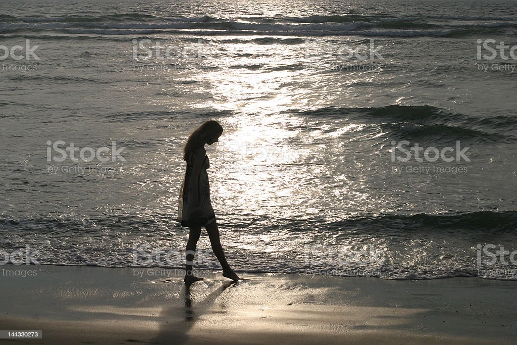 Touching the Light royalty-free stock photo