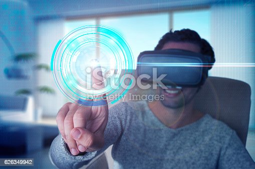istock Touching to the future 626349942