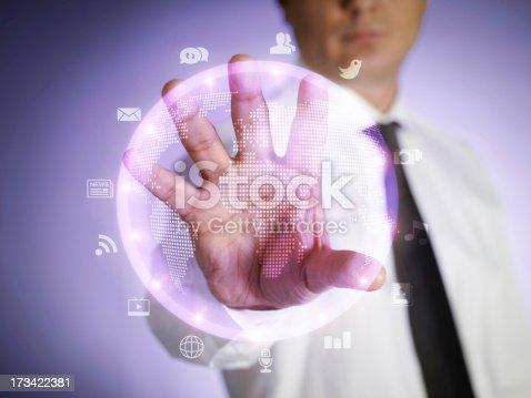 istock Touchscreen Interface 173422381