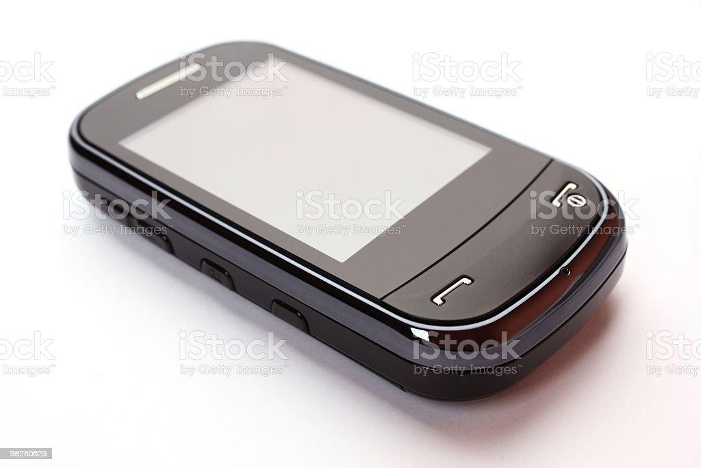 Touchscreen phone royalty-free stock photo