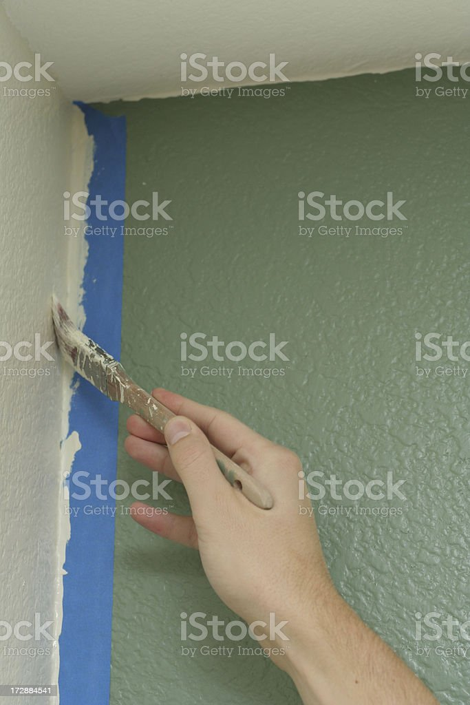 Touch-Up Paint royalty-free stock photo