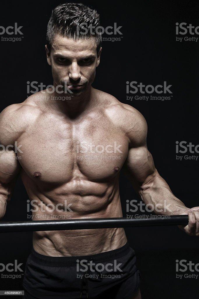 Tough body royalty-free stock photo