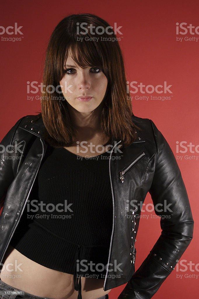 Tough Girl stock photo