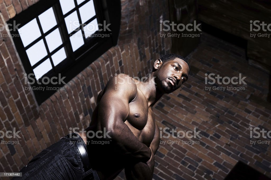 Tough Guy royalty-free stock photo