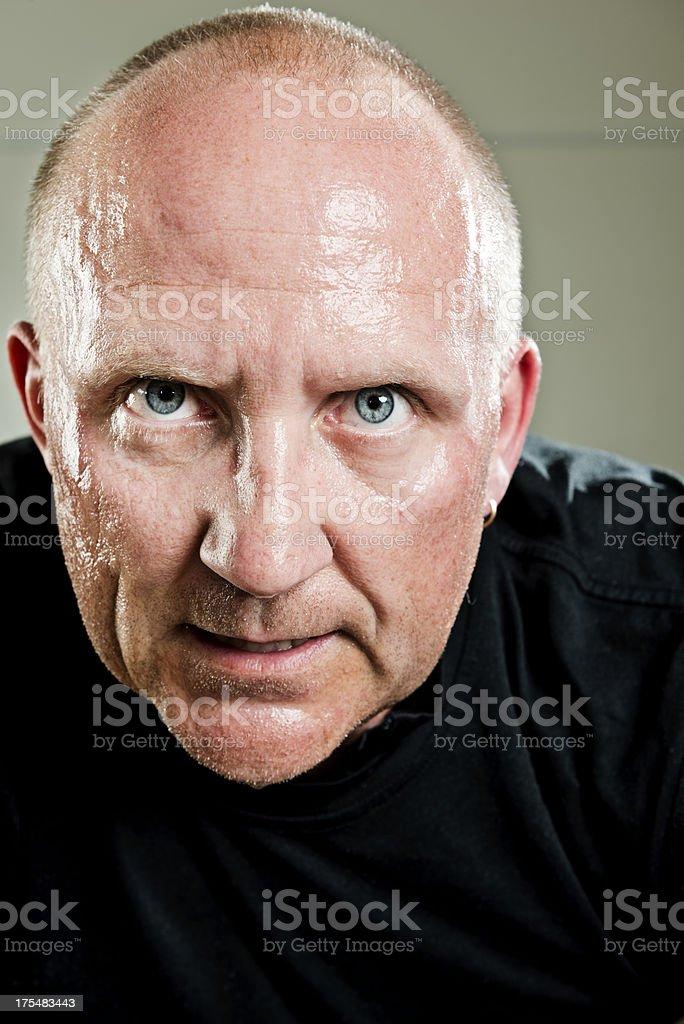 Tough Guy stock photo