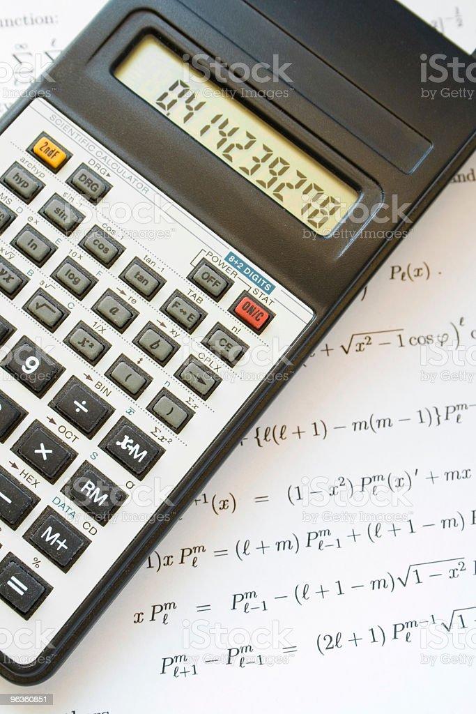 Tough Math royalty-free stock photo