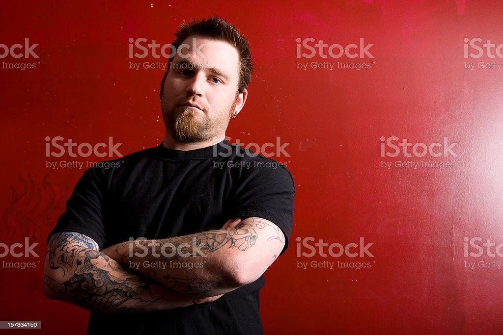 Tough Portrait stock photo