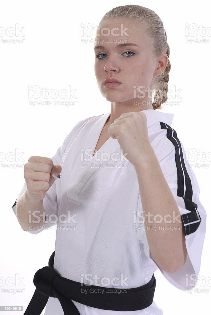 Tough teen stock photo