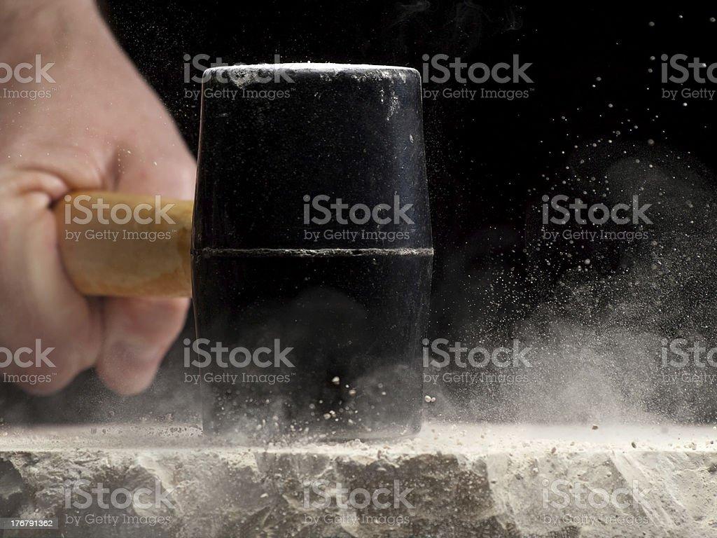 Tough to brake stock photo