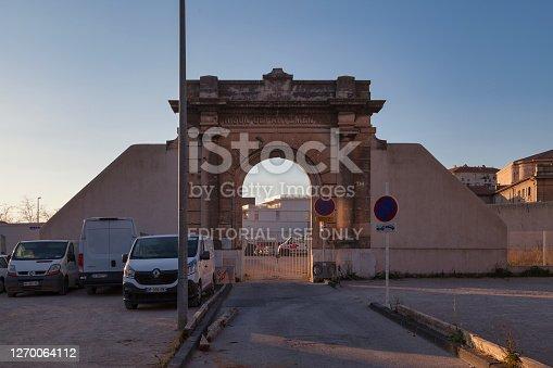 istock Toulon Departmental penitentiary 1270064112