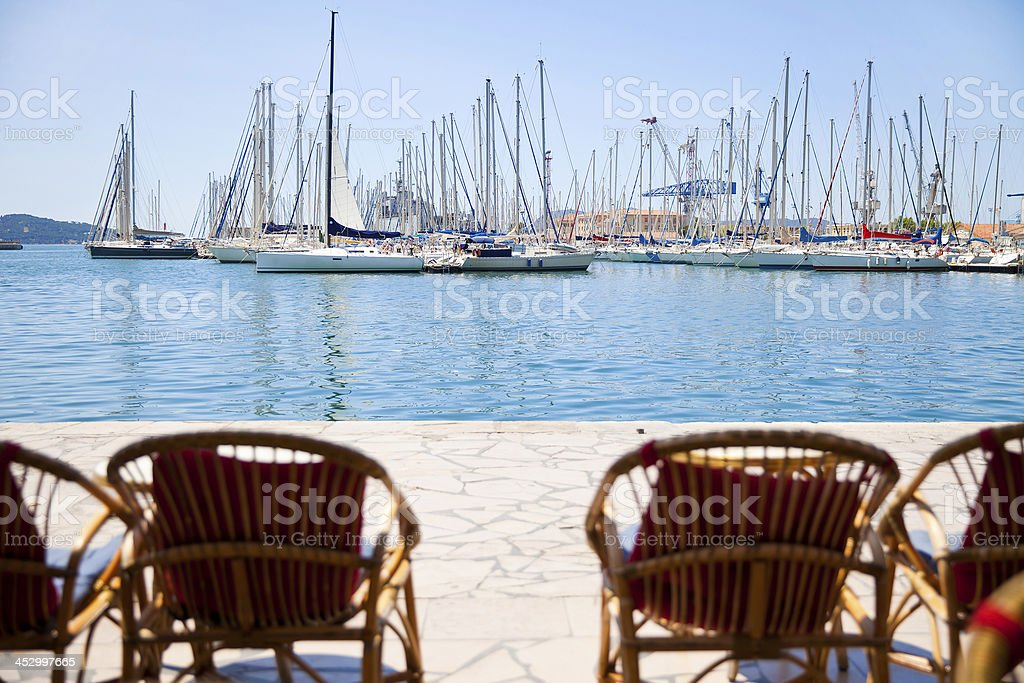 Toulon, France stock photo