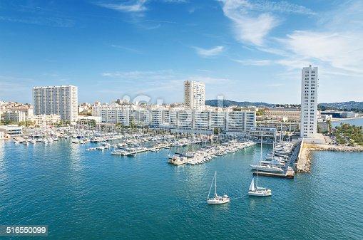istock Toulon harbor, France. 516550099