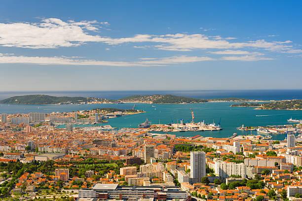Toulon in einem Sommer Morgen – Foto