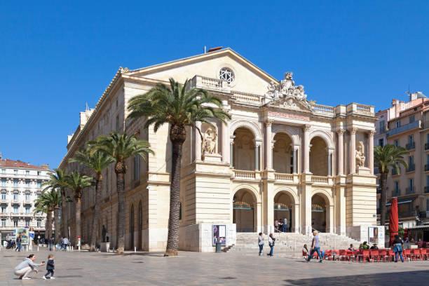 Toulon Opera stock photo