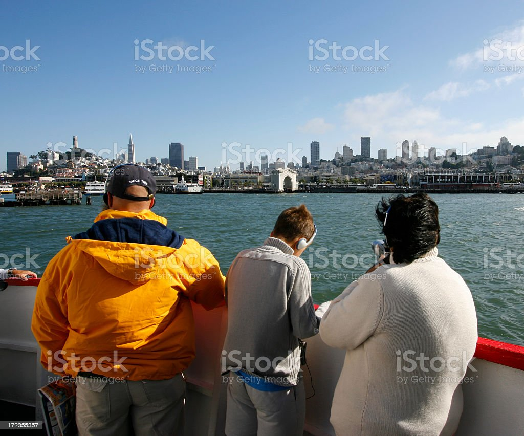 Tour Boat royalty-free stock photo