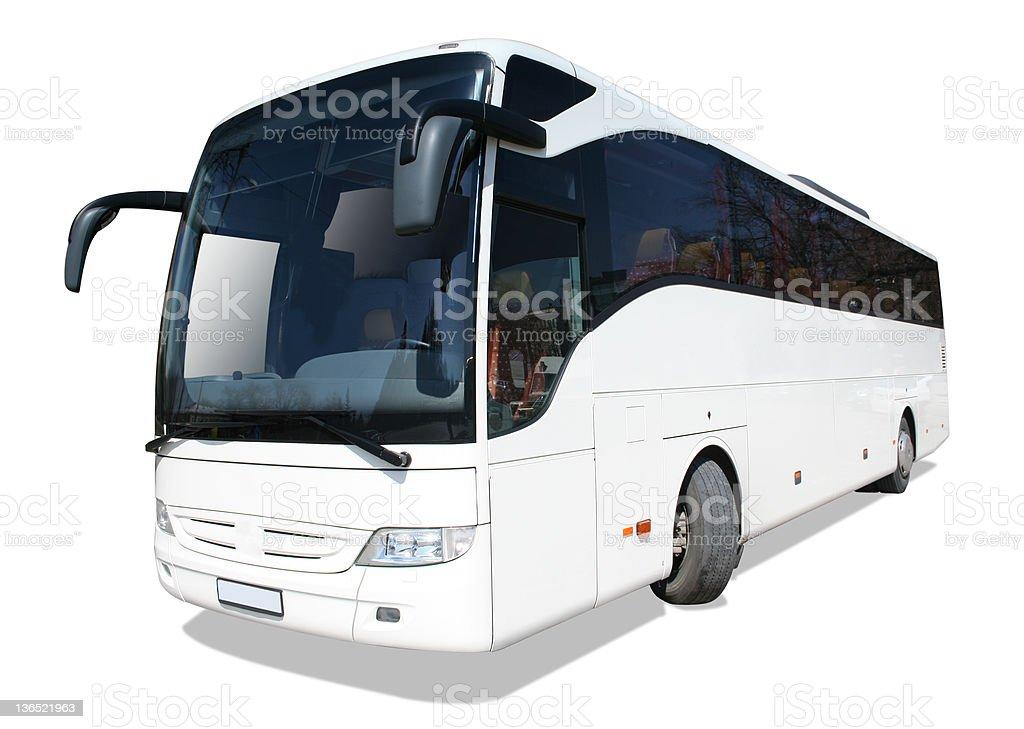 Tour bus royalty-free stock photo