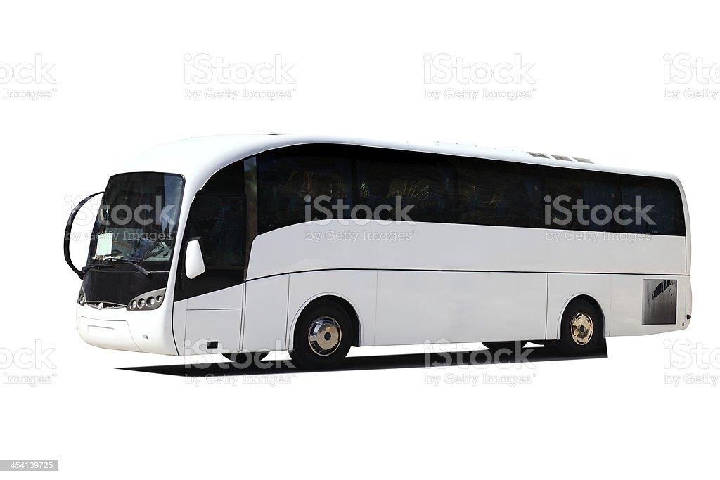 Tour Bus stock photo