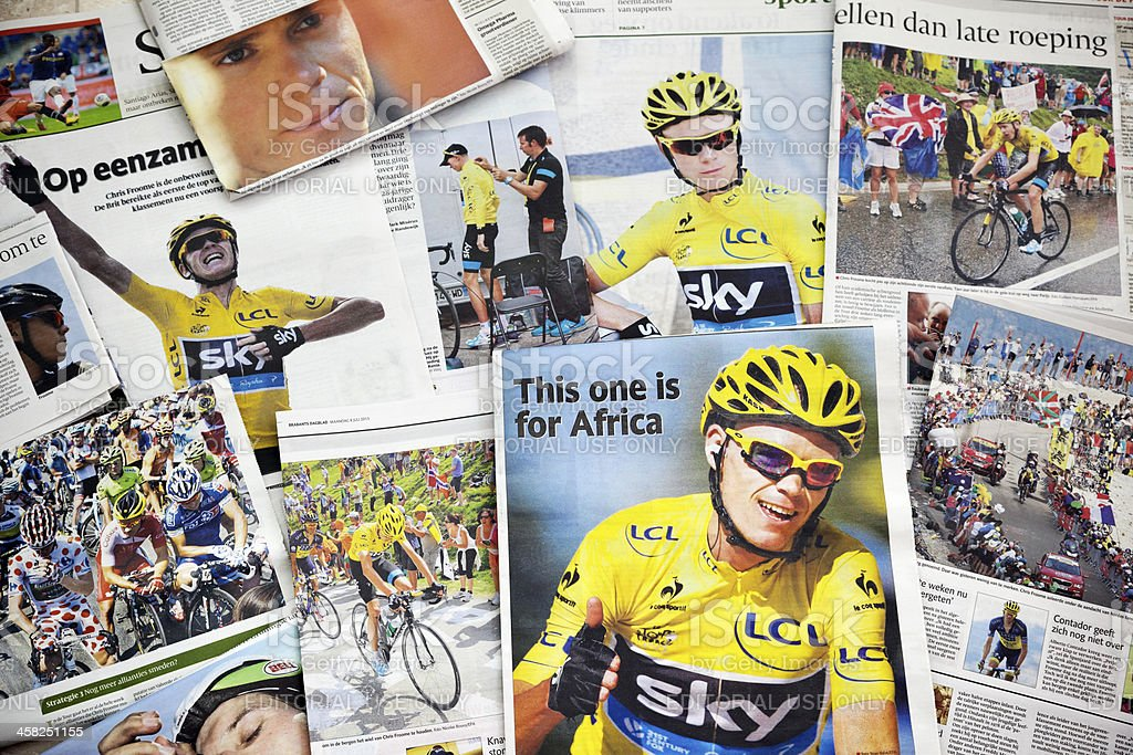 Tour de France 2013 # 2 XXXL royalty-free stock photo