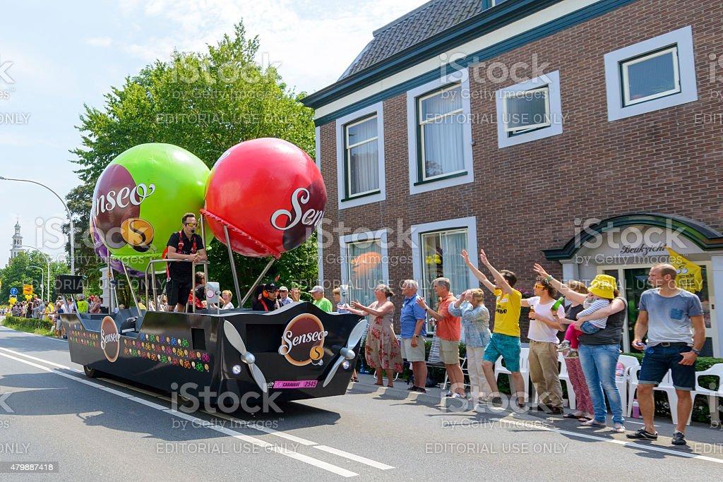 Tour de France Publicity Caravan with Senseo cars