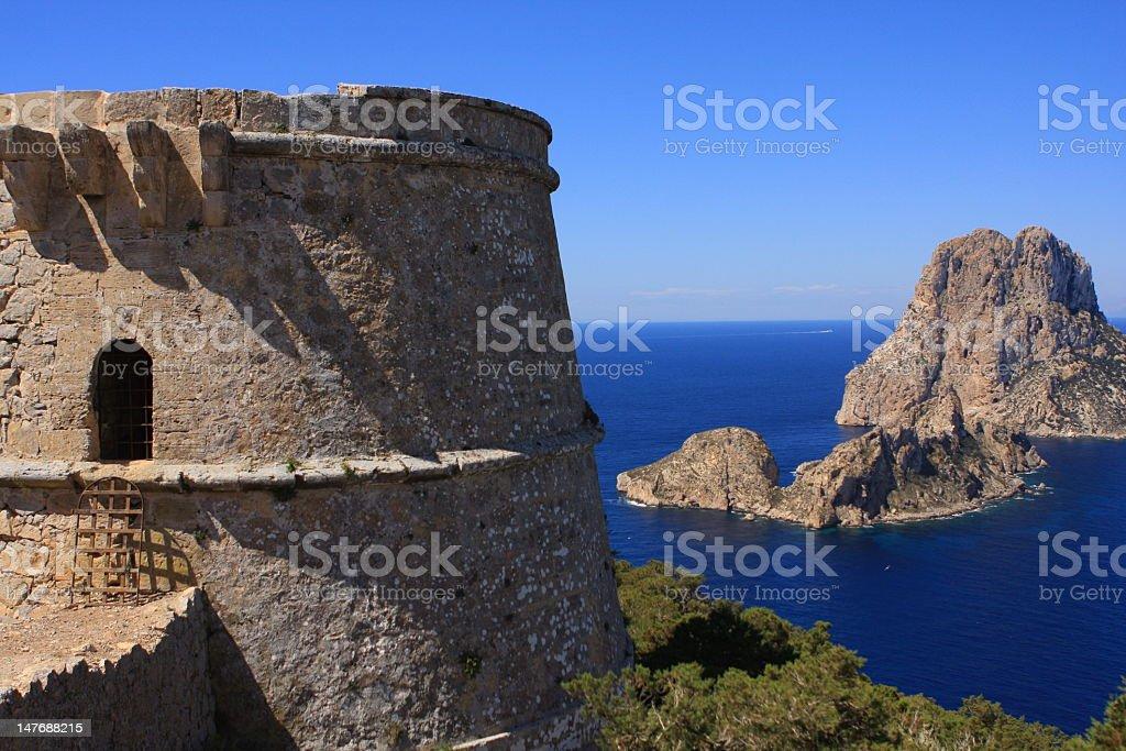 Tour des pirates stock photo