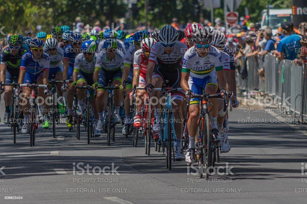 Tour Down Under 11 stock photo