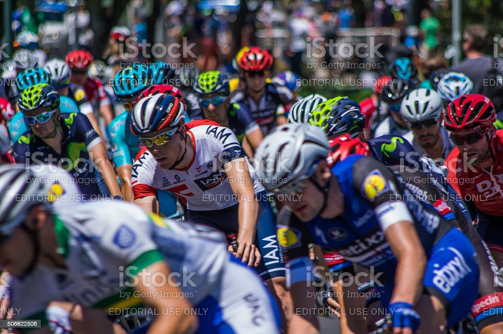 Tour Down Under 3 stock photo