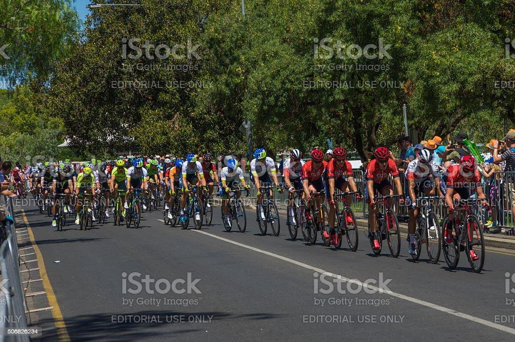 Tour Down Under 33 stock photo