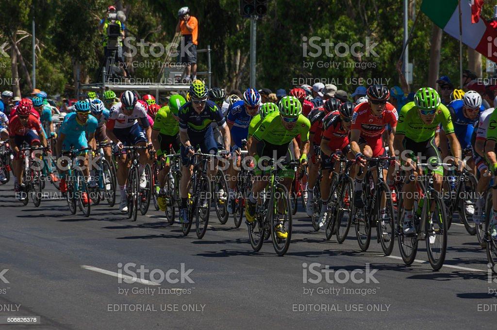 Tour Down Under 35 stock photo