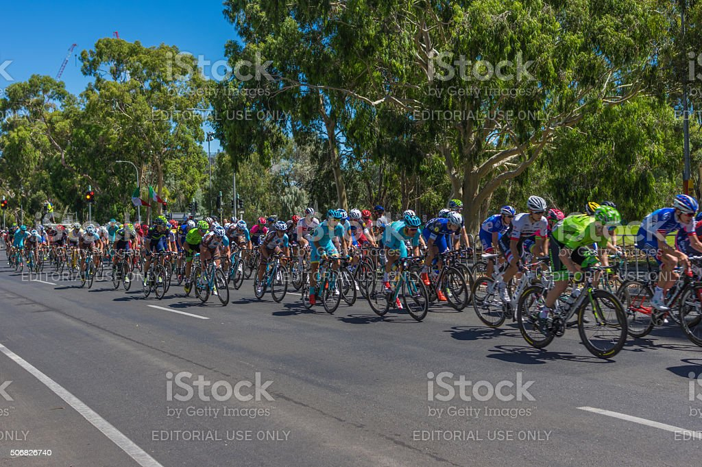 Tour Down Under 39 stock photo