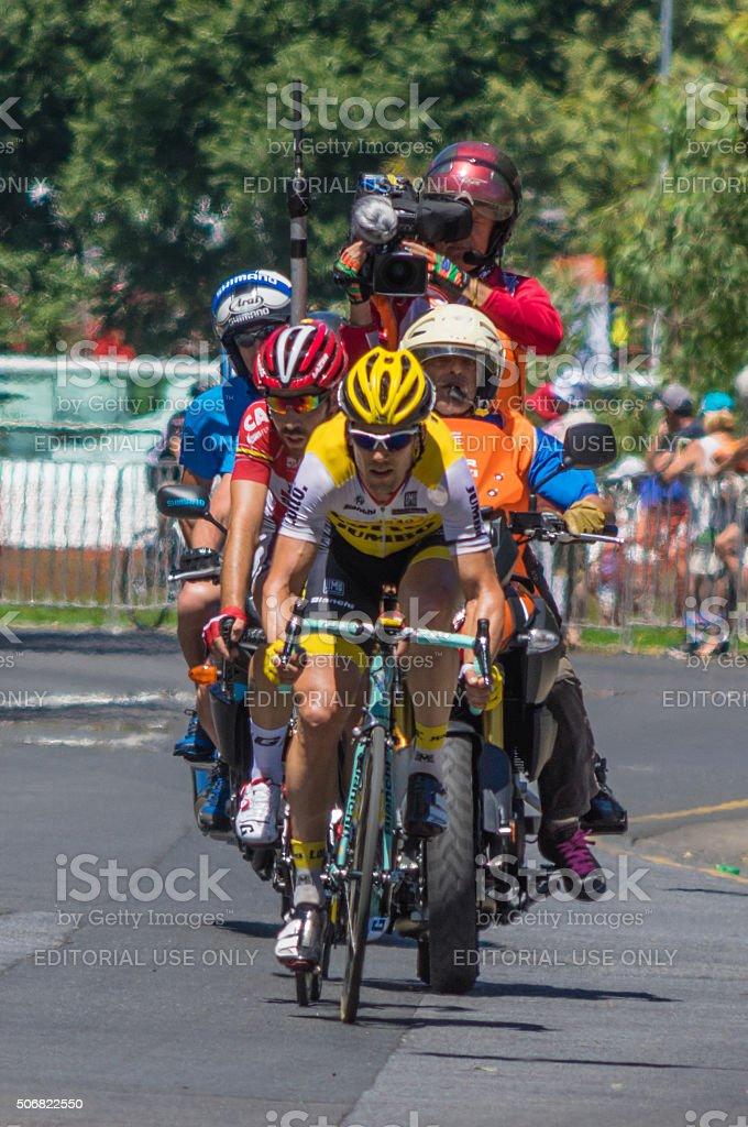 Tour Down Under 4 stock photo