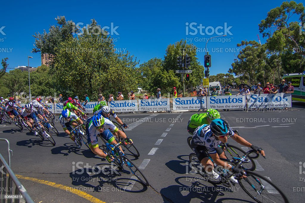 Tour Down Under 54 stock photo